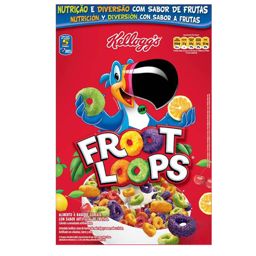 [22038] Cereal Froot Loops Kellogg's 230g